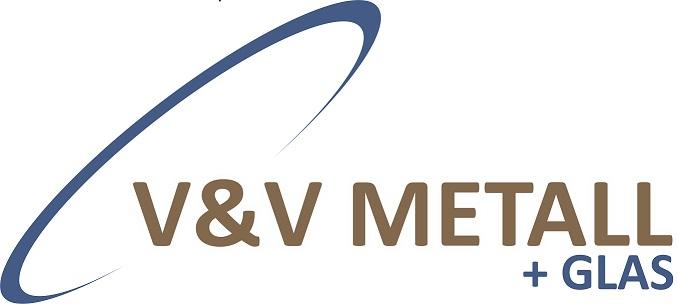 V&V Metall + Glas-Logo